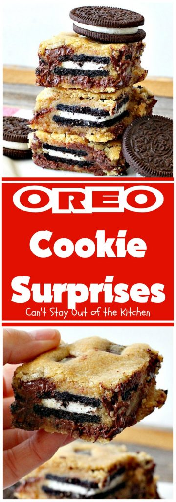 Oreo Cookie Surprises | Can't Stay Out of the Kitchen