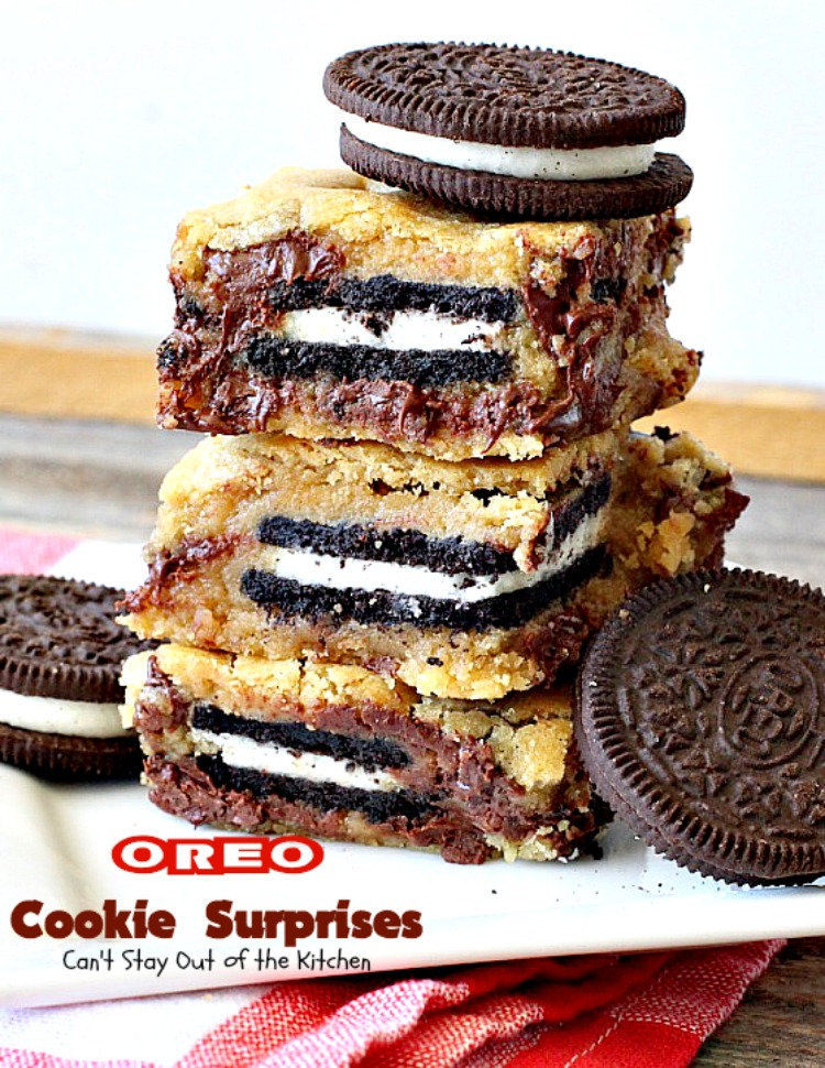 Oreo Cookie Surprises