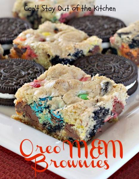 Oreo M&M Brownies - IMG_7203
