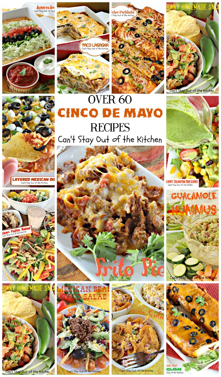Over 60 Cinco de Mayo Recipes