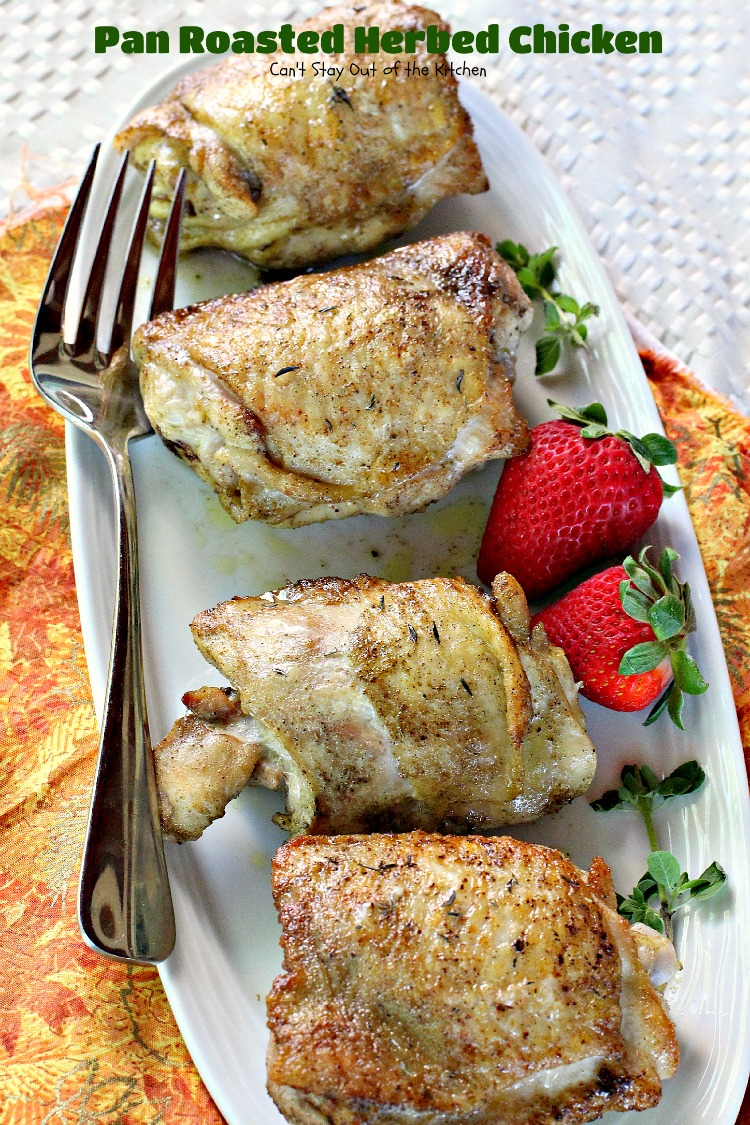 Pan Roasted Herbed Chicken