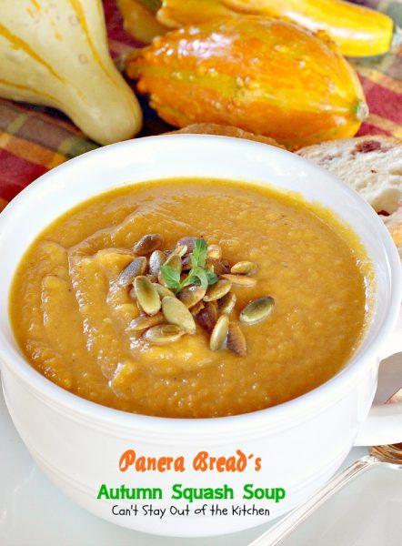Panera Bread's Autumn Squash Soup - IMG_5677