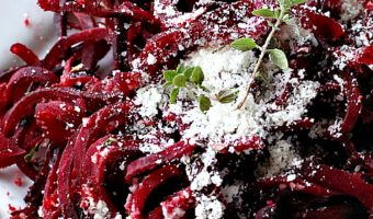 Parmesan Beets with Thyme