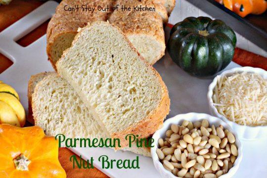 Parmesan Pine Nut Bread - IMG_3041