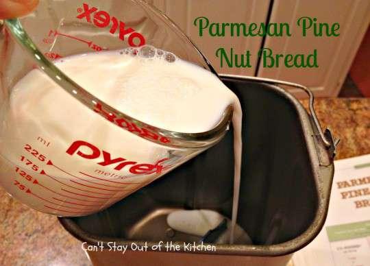 Parmesan Pine Nut Bread - IMG_7708