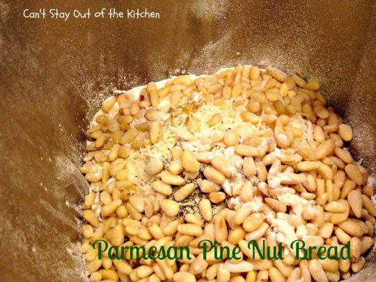 Parmesan Pine Nut Bread - IMG_7718