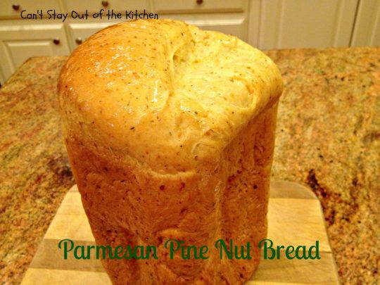 Parmesan Pine Nut Bread - IMG_7899