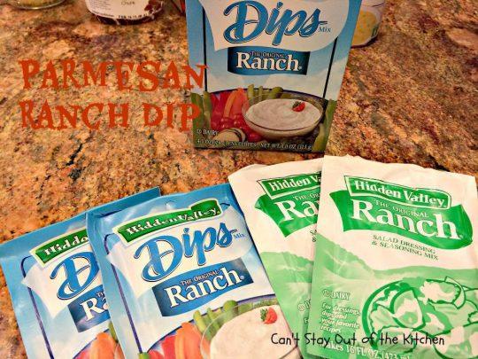 Parmesan Ranch Dip - IMG_0524