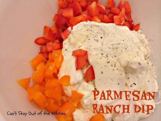 Parmesan Ranch Dip - IMG_0525