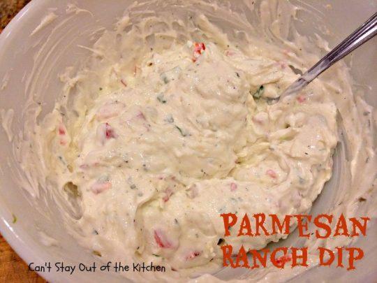Parmesan Ranch Dip - IMG_0528