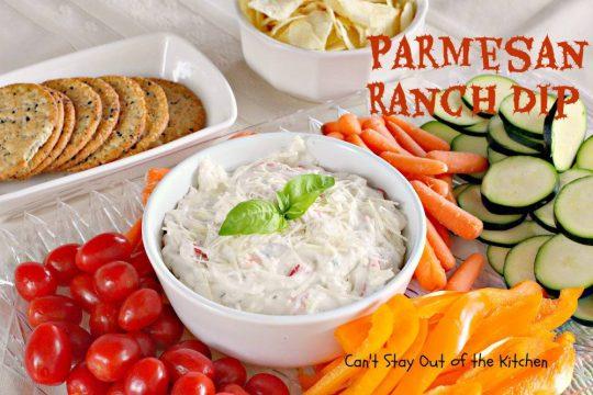 Parmesan Ranch Dip - IMG_6924
