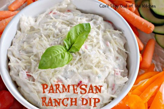 Parmesan Ranch Dip - IMG_6925