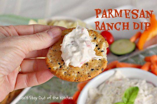 Parmesan Ranch Dip - IMG_6971