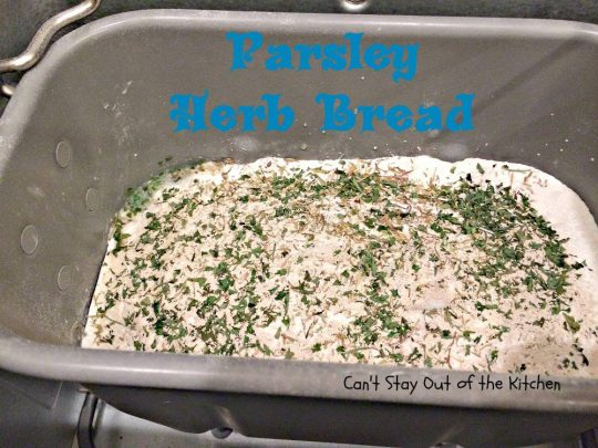 Parsley Herb Bread - IMG_4019.jpg