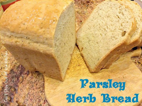 Parsley Herb Bread - IMG_4021.jpg