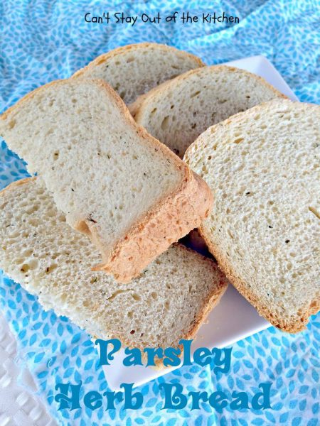 Parsley Herb Bread - IMG_4088.jpg