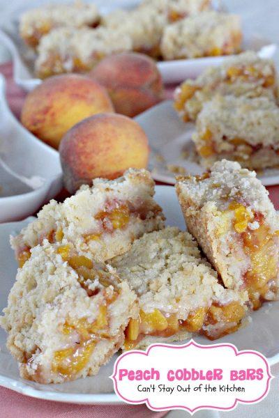 Peach Cobbler Bars - IMG_2226