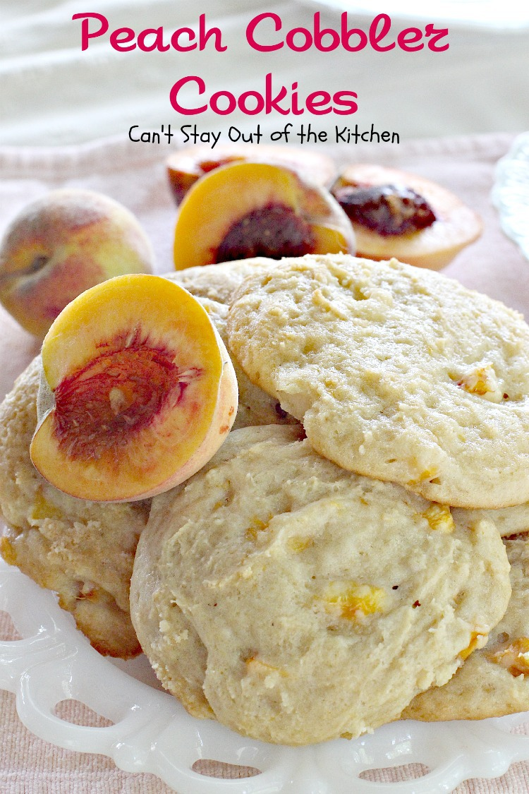 Peach Sugar Cookies Can T Stay Out Of The Kitchen