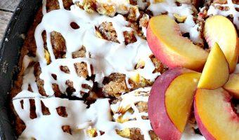 Peach Crumb Coffee Cake