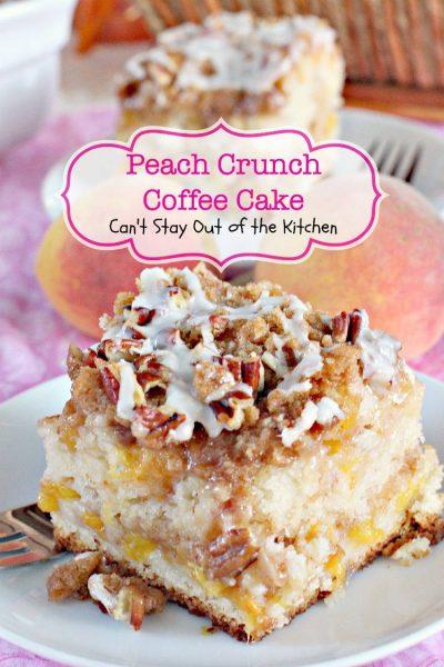 Bisquick Peach Coffee Cake