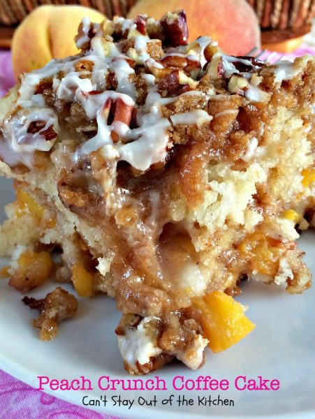 Peach Crunch Coffee Cake - IMG_7579