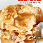 Best Ever Peach Dumplings   Can't Stay Out of the Kitchen   these #peach #dumplings are absolutely irresistible. One bite & you'll be hooked forever! This homemade from scratch recipe is a little more work than some #recipes but it's worth it. Our company always loves it when I make this spectacular #dessert. #holidays #FourthofJuly #LaborDay