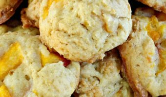 Peach Ice Cream Cookies