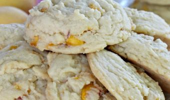 Peach Melt-In-Your-Mouth Cookies