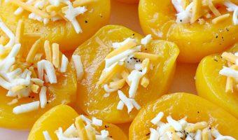 Peach Salad Halves