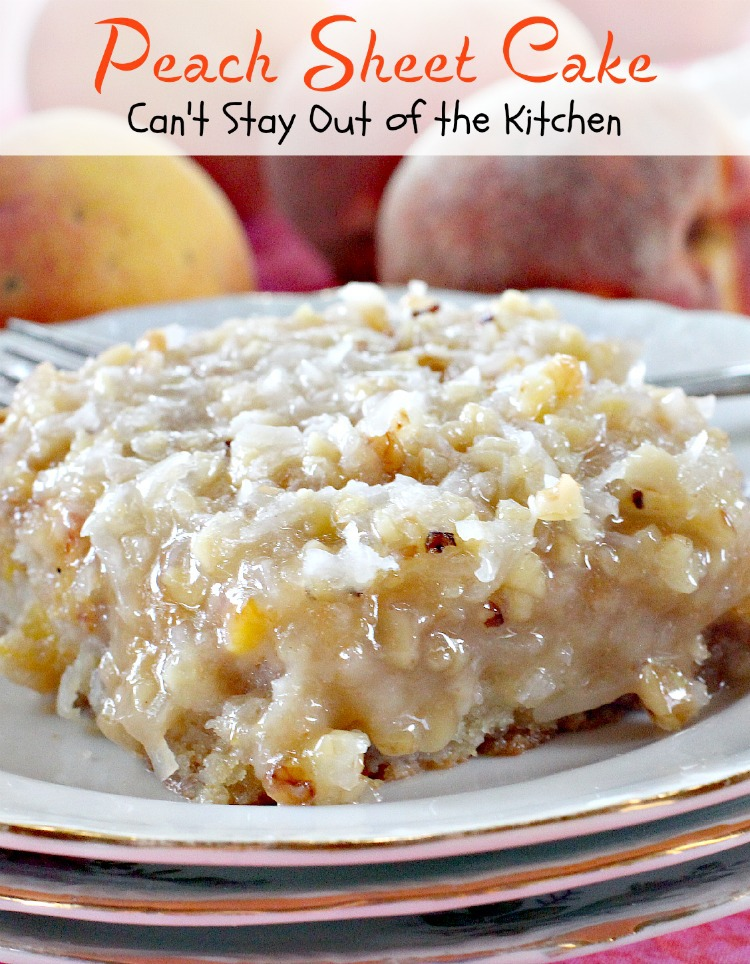 Recipe For Peaches Butter Pecan Cake Mix