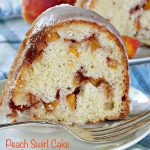 Peach Swirl Cake   Can't Stay Out of the Kitchen
