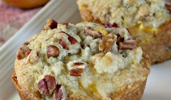 Peach and Pecan Muffins