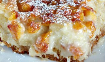 Peaches 'n Cream Gooey Bars