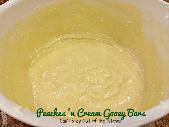 Peaches 'n Cream Gooey Bars - IMG_6481