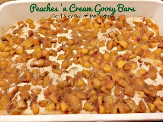 Peaches 'n Cream Gooey Bars - IMG_6484