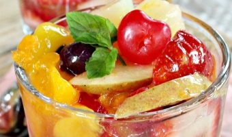 Peachy Fruit Salad