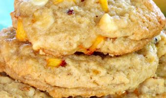 Peachy Vanilla Chip Cookies