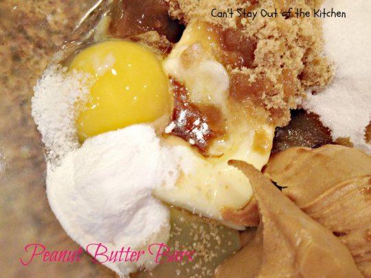 Peanut Butter Bars - IMG_4249