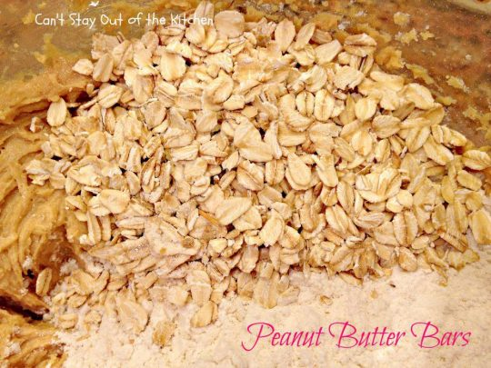 Peanut Butter Bars - IMG_4252
