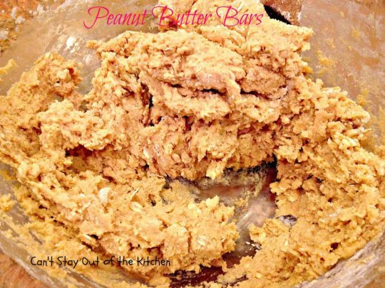 Peanut Butter Bars - IMG_4255