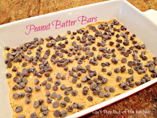 Peanut Butter Bars - IMG_4257