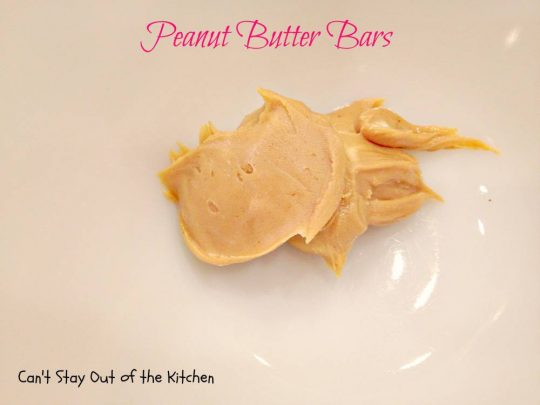 Peanut Butter Bars - IMG_4258