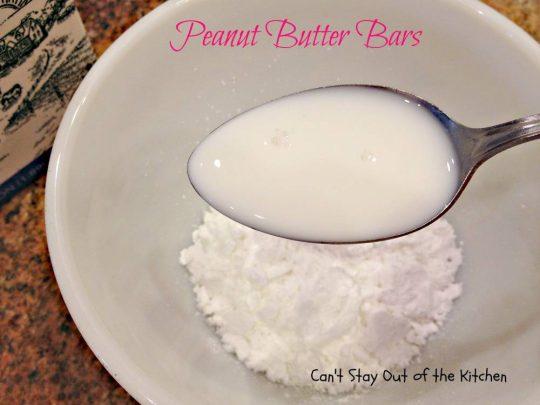 Peanut Butter Bars - IMG_4260