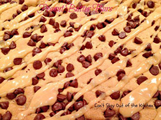 Peanut Butter Bars - IMG_4268