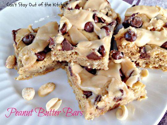 Peanut Butter Bars - IMG_4400