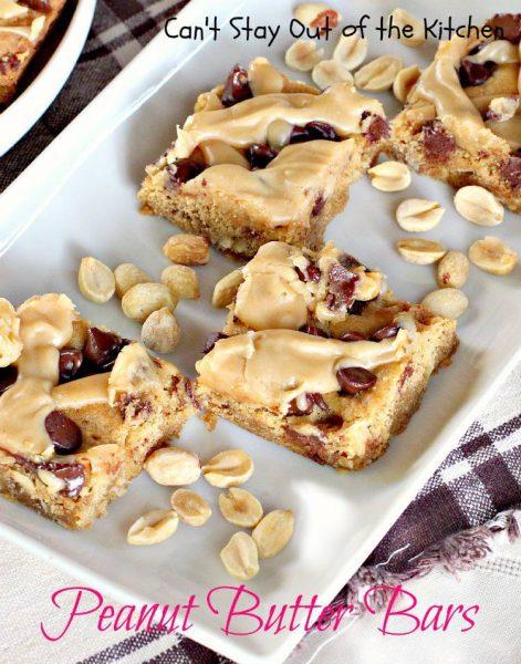 Peanut Butter Bars - IMG_9479