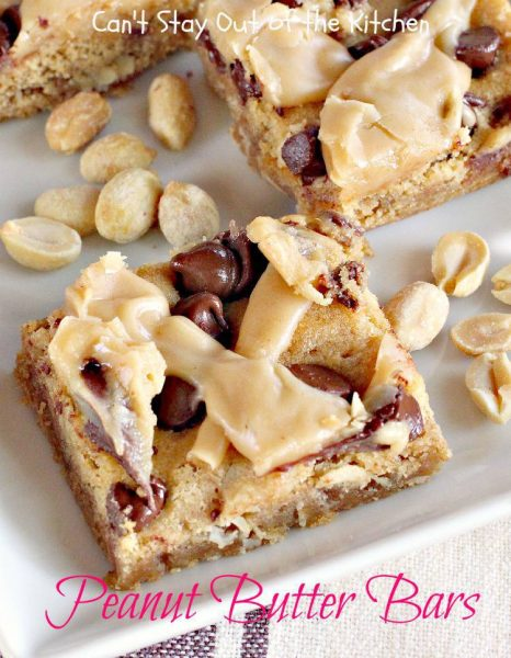 Peanut Butter Bars - IMG_9484