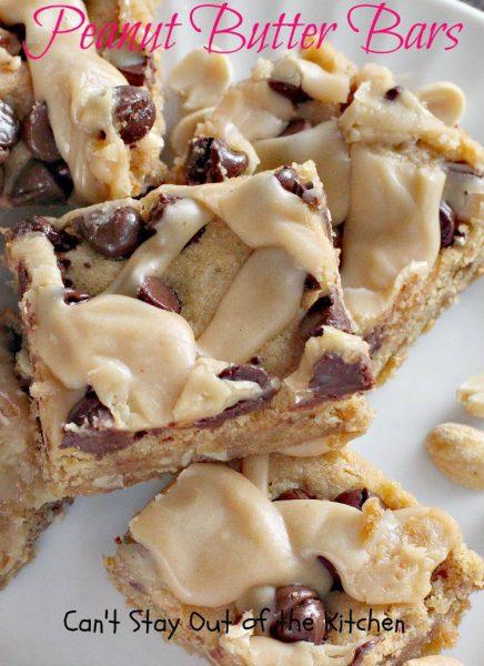 Peanut Butter Bars - IMG_9508