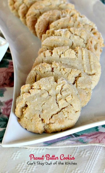 Peanut Butter Cookies - IMG_5542