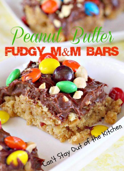 Peanut Butter Fudgy M&M Bars - IMG_8431.jpg